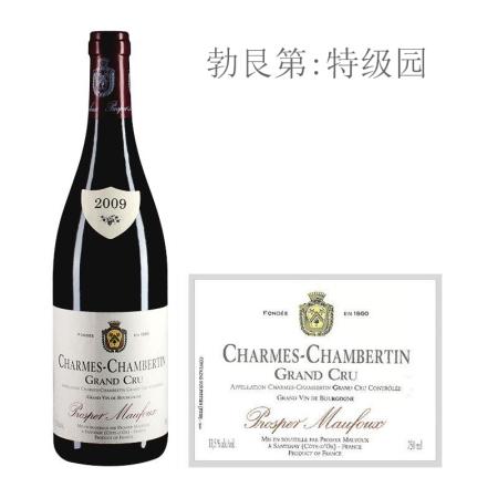 2009年葩美酒庄(香牡-香贝丹特级园)红葡萄酒