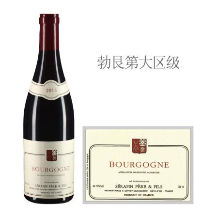 2013年塞芬父子红葡萄酒