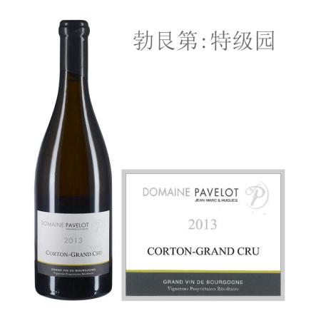2013年帕弗洛酒庄(科尔登特级园)白葡萄酒