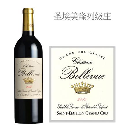 2018年美景酒庄红葡萄酒
