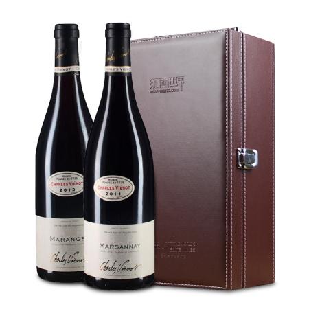 【爱月套装】勃艮第名庄 2011年威洛(马沙内村)+2012年威洛(马朗日村)红葡萄酒