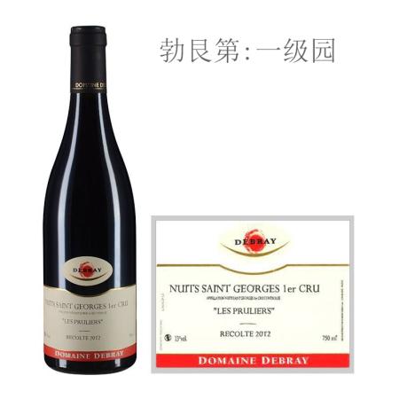 2012年戴布雷酒庄普露利(夜圣乔治一级园)红葡萄酒
