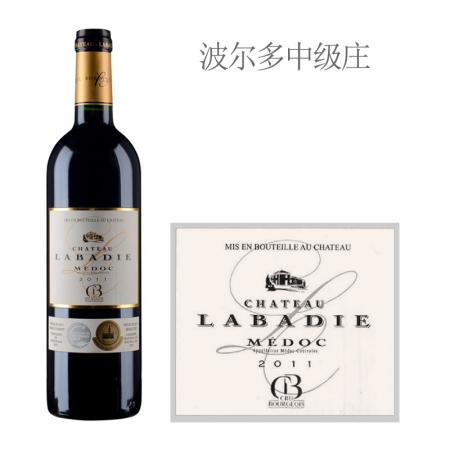 2011年拉巴狄酒庄红葡萄酒