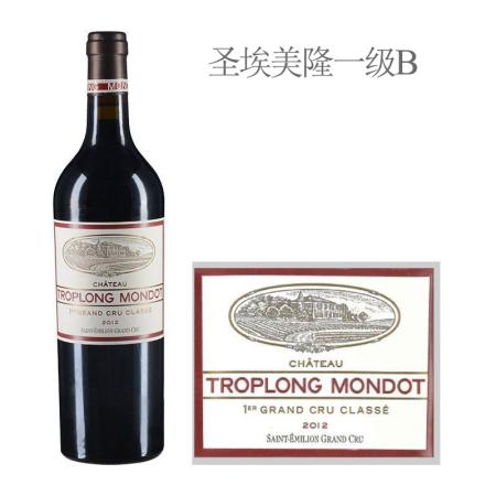 2012年卓龙梦特酒庄红葡萄酒