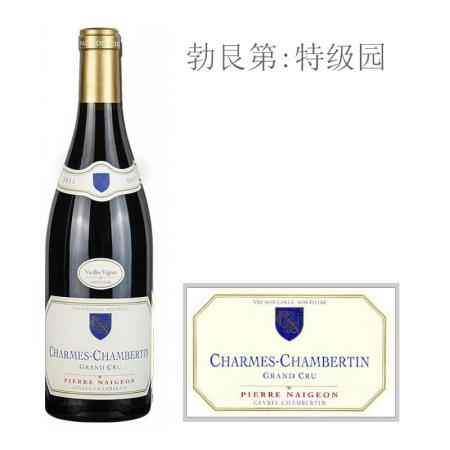 2011年诺尊酒庄(香牡-香贝丹特级园)老藤红葡萄酒