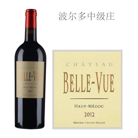 2012年贝乐威酒庄红葡萄酒