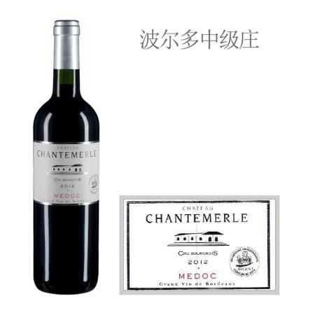 2012年尚特美古堡红葡萄酒