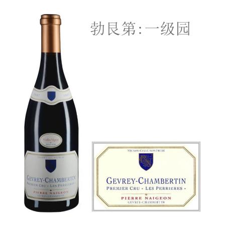 2007年诺尊酒庄佩尼斯(热夫雷-香贝丹一级园)老藤红葡萄酒