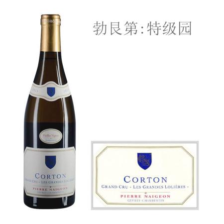 2011年诺尊酒庄大洛丽雅(科尔登特级园)老藤白葡萄酒