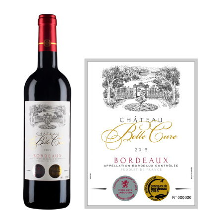 2015年百俪城堡红葡萄酒