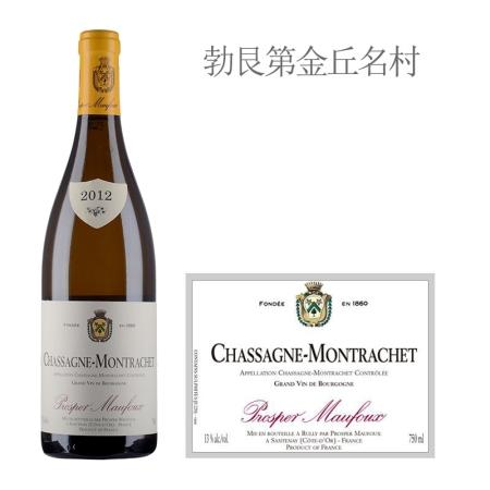 2012年葩美酒庄(夏山-蒙哈榭村)白葡萄酒