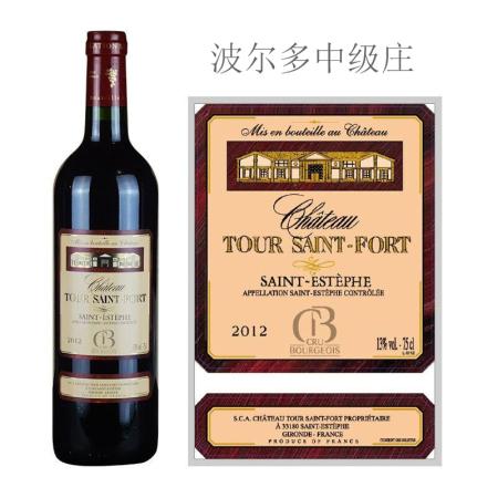2012年图圣福庄园红葡萄酒