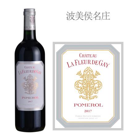 2017年盖伊之花酒庄红葡萄酒