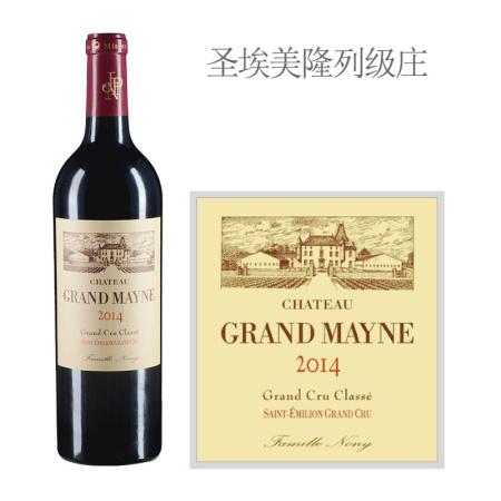 2014年大梅恩酒庄红葡萄酒