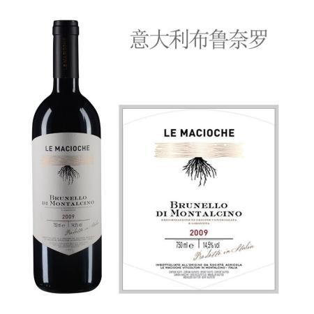 2009年马乔凯酒庄布鲁奈罗红葡萄酒