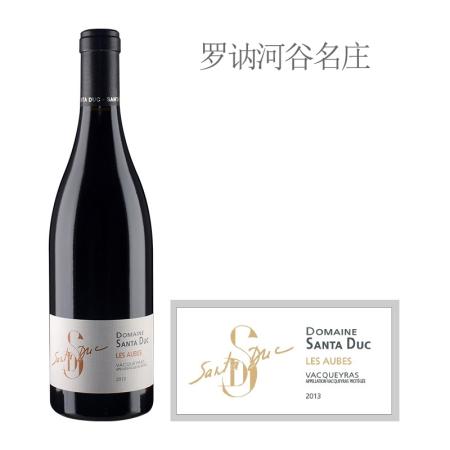 2013年圣杜卡酒庄奥布红葡萄酒