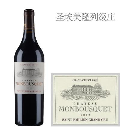 2012年蒙宝酒庄红葡萄酒