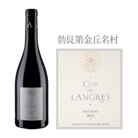 2013年达哈瑞酒庄朗格园(夜丘村)红葡萄酒