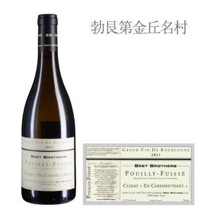 2011年布雷兄弟卡罗美特(普伊-富赛)白葡萄酒