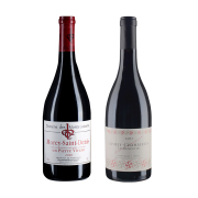 【套装12瓶】图诗洛瑟弗(热夫雷-香贝丹村)红6瓶·路易桑山庄园皮尔维兰特(莫雷圣丹尼村)红6瓶 勃艮第葡萄酒套装