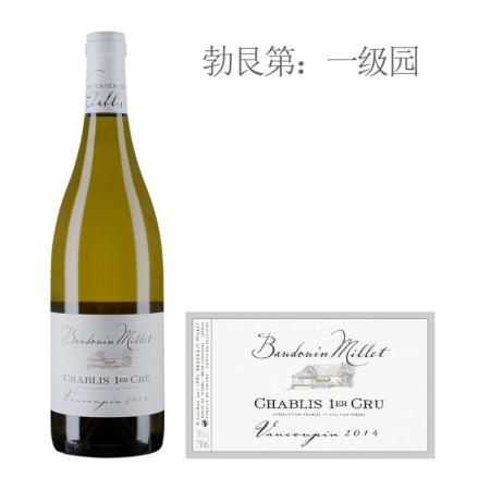 2014年米乐特瓦科宾(夏布利一级园)白葡萄酒