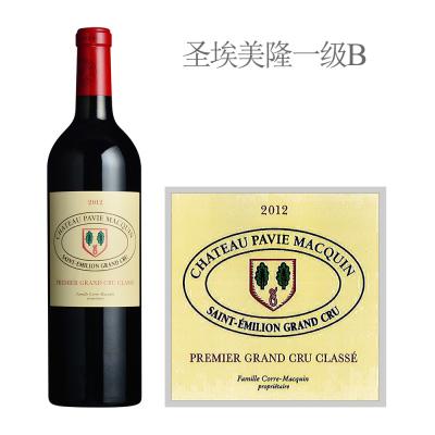 2012年柏菲玛凯酒庄红葡萄酒
