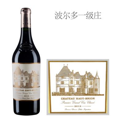 2012年侯伯王庄园红葡萄酒
