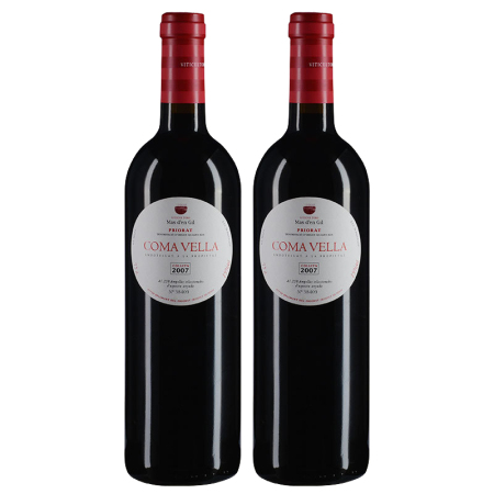 【双支套装】2007年玛吉尔庄园科马维拉红葡萄酒