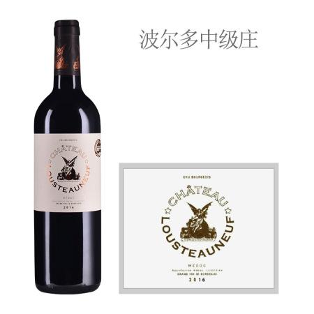 2016年露斯特酒庄红葡萄酒