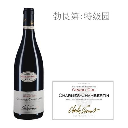 2007年威洛酒园(香牡-香贝丹特级园)红葡萄酒