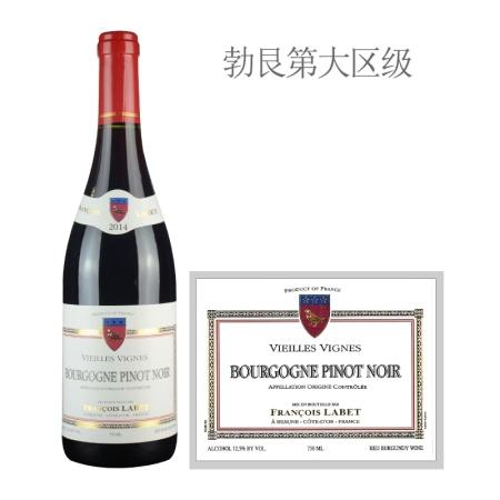 2014年弗朗索瓦拉贝老藤黑皮诺红葡萄酒