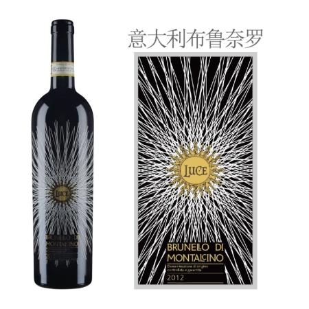 2012年麓鹊酒庄布鲁奈罗红葡萄酒