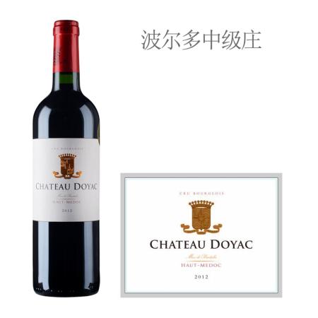 2012年杜雅酒庄红葡萄酒