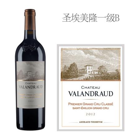 2012年瓦兰佐酒庄红葡萄酒