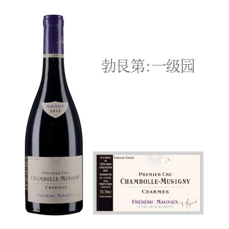 2013年马尼安夏美(香波-慕西尼一级园)老藤红葡萄酒