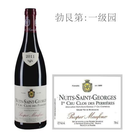 2011年葩美酒庄佩尼斯(夜圣乔治一级园)红葡萄酒