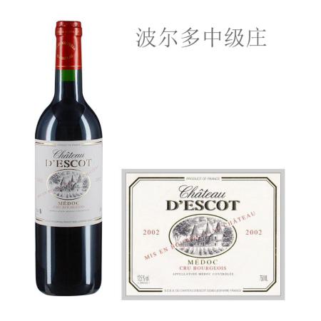 2002年艾斯科酒庄红葡萄酒