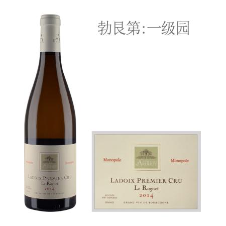 2014年达哈瑞酒庄罗尼(拉都瓦一级园)白葡萄酒