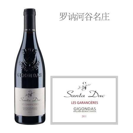 2011年圣杜卡酒庄加拉希瑞红葡萄酒
