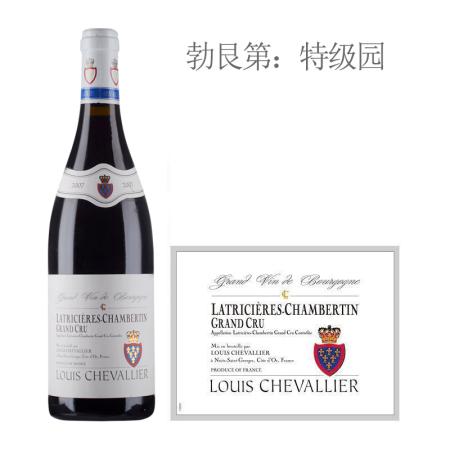 2007年路易骑士酒庄(拉奇希尔-香贝丹特级园)红葡萄酒