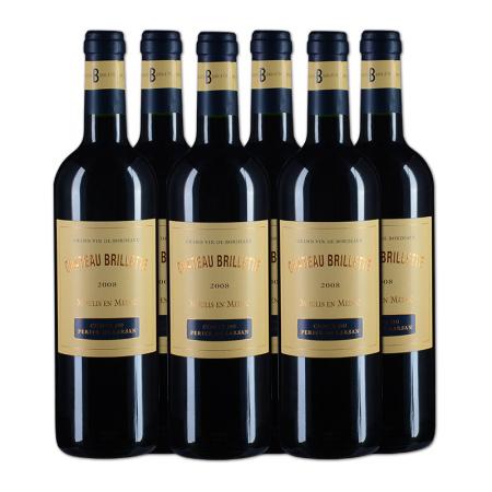 【整箱6支】2008年宝叶酒庄红葡萄酒