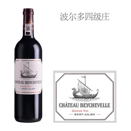 2019年龙船庄园红葡萄酒