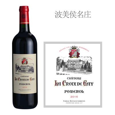 2016年盖伊十字酒庄红葡萄酒