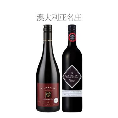 【套装2瓶】2018年歌浓酒庄混酿干红葡萄酒(6K)·2015年若诗庄园钻石标赤霞珠红葡萄酒