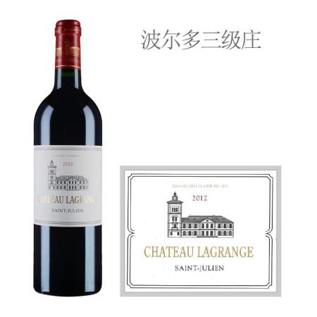 2012年力关庄园红葡萄酒