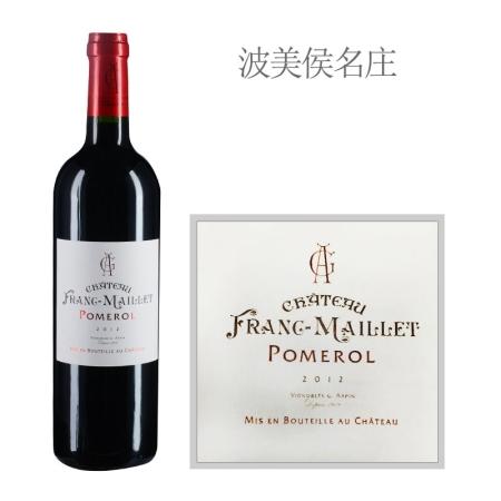 2012年芙兰梅耶酒庄红葡萄酒