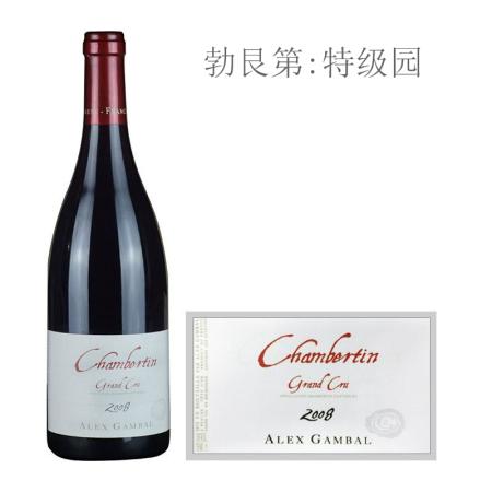 2008年亚力士甘宝酒庄(香贝丹特级园)红葡萄酒