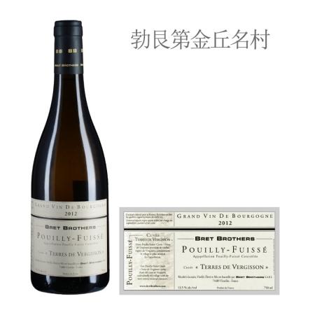 2012年布雷兄弟特拉斯维吉松(普伊-富赛)白葡萄酒